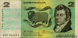 2 Dollars AUSTRALIE  1976 P.43b TB