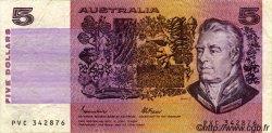 5 Dollars AUSTRALIE  1985 P.44e TTB