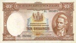 10 Shillings NOUVELLE-ZÉLANDE  1967 P.158d TTB