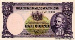 1 Pound NOUVELLE-ZÉLANDE  1950 P.159a SUP+