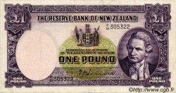 1 Pound NOUVELLE-ZÉLANDE  1951 P.159a TTB
