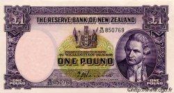 1 Pound NOUVELLE-ZÉLANDE  1953 P.159a SUP