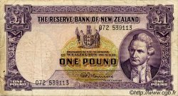 1 Pound NOUVELLE-ZÉLANDE  1956 P.159c TB