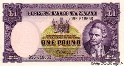 1 Pound NOUVELLE-ZÉLANDE  1956 P.159c SPL+