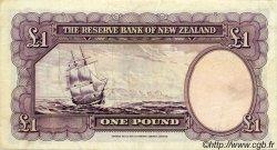 1 Pound NOUVELLE-ZÉLANDE  1967 P.159d TTB