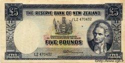5 Pounds NOUVELLE-ZÉLANDE  1967 P.160d TTB