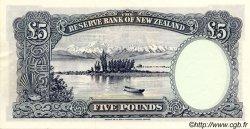 5 Pounds NOUVELLE-ZÉLANDE  1967 P.160d SPL