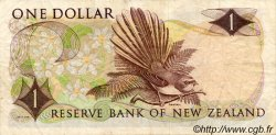 1 Dollar NOUVELLE-ZÉLANDE  1968 P.163b TB+