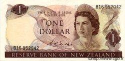 1 Dollar NOUVELLE-ZÉLANDE  1968 P.163b TTB