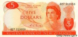 5 Dollars NOUVELLE-ZÉLANDE  1968 P.165b pr.NEUF