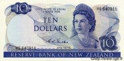 10 Dollars NOUVELLE-ZÉLANDE  1968 P.166b SPL+