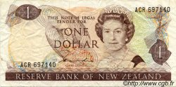 1 Dollar NOUVELLE-ZÉLANDE  1981 P.169a TB