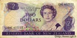 2 Dollars NOUVELLE-ZÉLANDE  1981 P.170a TB