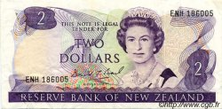 2 Dollars NOUVELLE-ZÉLANDE  1989 P.170c TTB