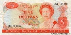5 Dollars NOUVELLE-ZÉLANDE  1985 P.171b TTB