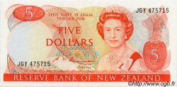 5 Dollars NOUVELLE-ZÉLANDE  1985 P.171b SPL