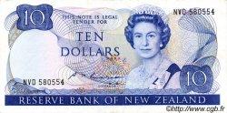 10 Dollars NOUVELLE-ZÉLANDE  1985 P.172b TTB+