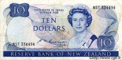 10 Dollars NOUVELLE-ZÉLANDE  1985 P.172b TB à TTB