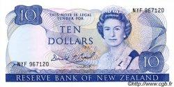 10 Dollars NOUVELLE-ZÉLANDE  1989 P.172c NEUF