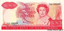 100 Dollars NOUVELLE-ZÉLANDE  1981 P.175a SPL