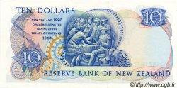 10 Dollars NOUVELLE-ZÉLANDE  1990 P.176CS SUP à SPL