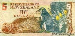 5 Dollars NOUVELLE-ZÉLANDE  1992 P.177 TB+