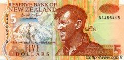 5 Dollars NOUVELLE-ZÉLANDE  1992 P.177 TTB