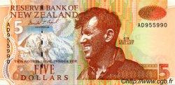5 Dollars NOUVELLE-ZÉLANDE  1992 P.177 pr.NEUF