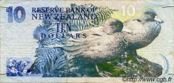 10 Dollars NOUVELLE-ZÉLANDE  1992 P.178 TB+