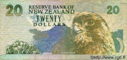 20 Dollars NOUVELLE-ZÉLANDE  1992 P.179 TB