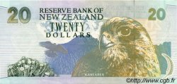 20 Dollars NOUVELLE-ZÉLANDE  1992 P.179 pr.SUP