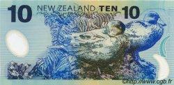 10 Dollars NOUVELLE-ZÉLANDE  1999 P.186a NEUF
