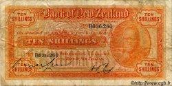10 Shillings NOUVELLE-ZÉLANDE  1928 PS.232 pr.TB