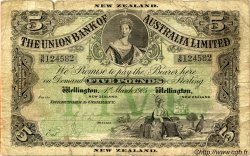 5 Pounds NOUVELLE-ZÉLANDE  1905 PS.363b B