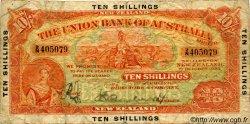 10 Shillings NOUVELLE-ZÉLANDE  1923 PS.371 B+