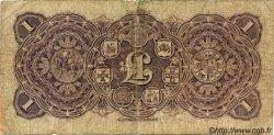1 Pound NOUVELLE-ZÉLANDE  1923 PS.372 B+