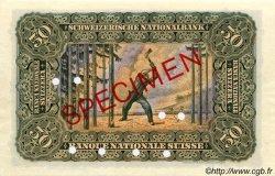 50 Francs SUISSE  1910 P.05s pr.NEUF