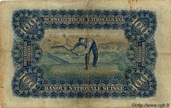 100 Francs SUISSE  1914 P.06b pr.TB