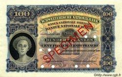 100 Francs SUISSE  1910 P.06s pr.NEUF
