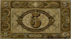 5 Francs SUISSE  1939 P.11i TB+