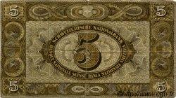 5 Francs SUISSE  1939 P.11i TTB
