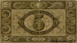5 Francs SUISSE  1942 P.11j B