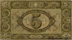 5 Francs SUISSE  1942 P.11j TB