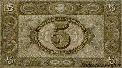 5 Francs SUISSE  1947 P.11m TTB