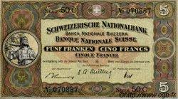 5 Francs SUISSE  1951 P.11o pr.SPL