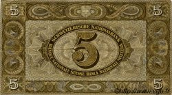 5 Francs SUISSE  1951 P.11o TTB