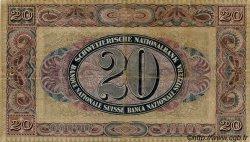 20 Francs SUISSE  1922 P.27a TTB+