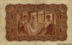 500 Francs SUISSE  1923 P.29 TB