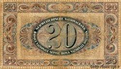 20 Francs SUISSE  1926 P.33b B+