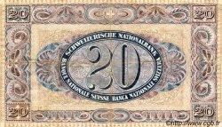 20 Francs SUISSE  1927 P.33e TTB
